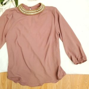 COPY - SUMMER SALE High Collared long top